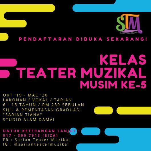 Kelas Teater Muzikal Sarian Teater Muzikal