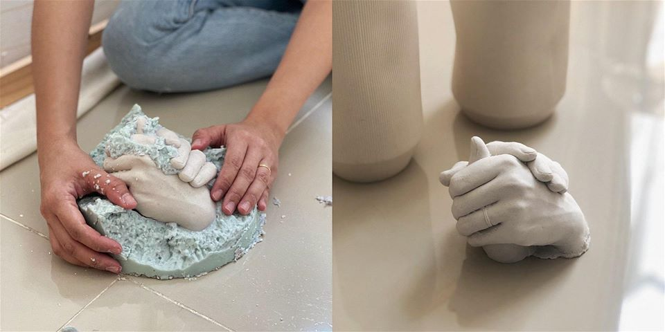 Life Casting Sculpture Workshop: Hand Casting & Mould Making for a Pair of Hands