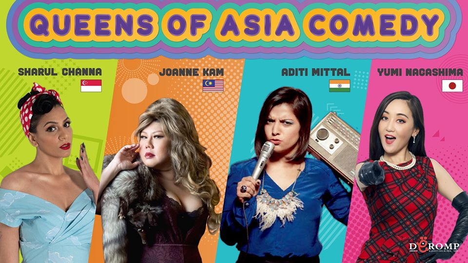 Queens of Asia Comedy Special!