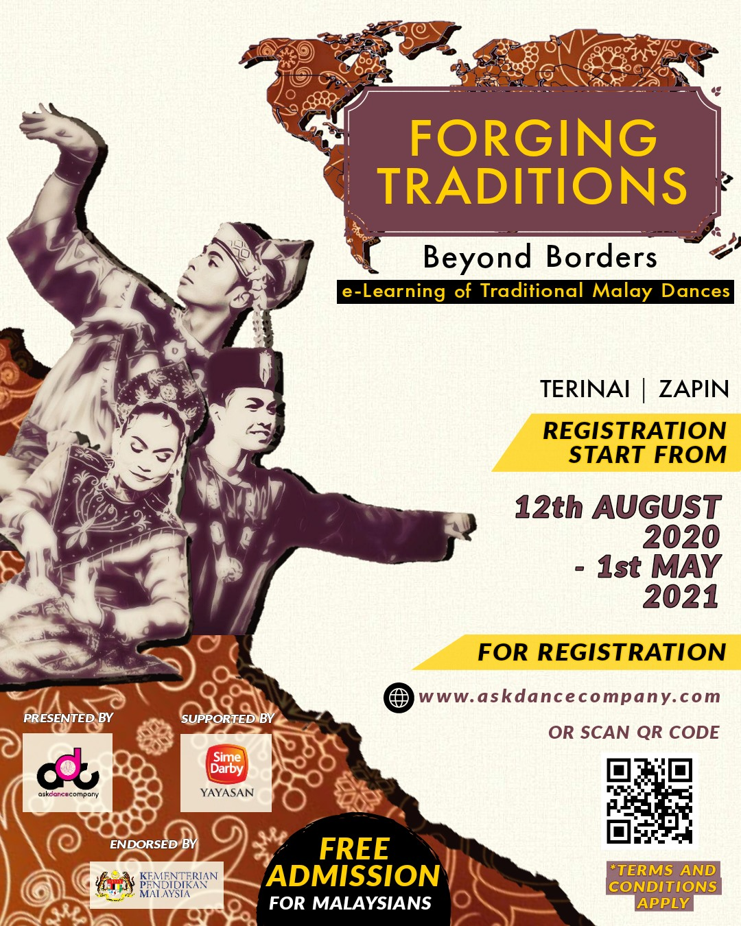 FORGING TRADITIONS BEYOND BORDERS, eLearning on Malay Traditional Dances